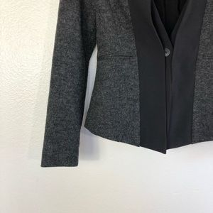 Anthropologie Jackets & Coats - Anthropologie Elevenses Waved Placket Blazer